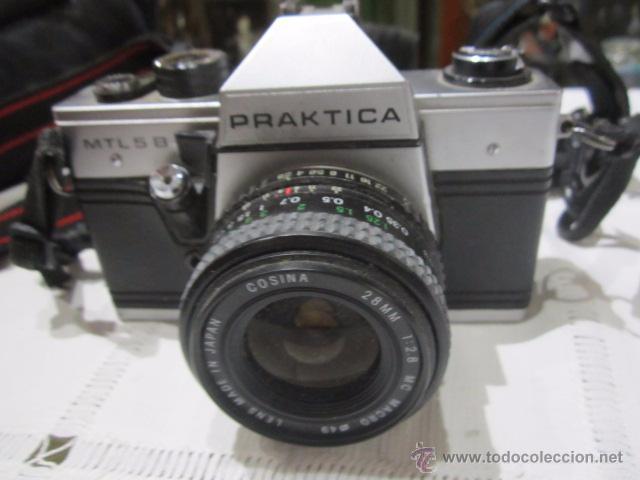 Cámara de fotos: Cámara de fotos Praktica MTL 5B, con objetivo y bolsa - Foto 2 - 53884591