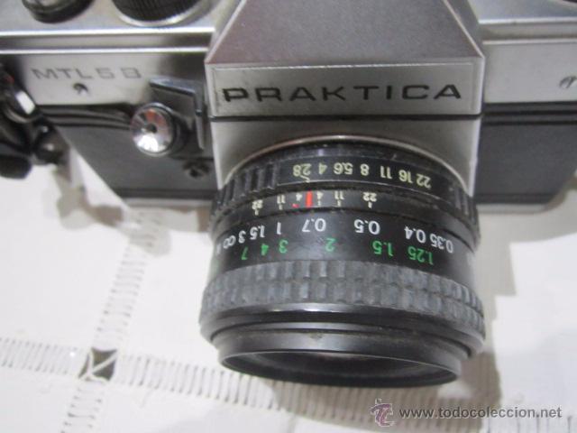 Cámara de fotos: Cámara de fotos Praktica MTL 5B, con objetivo y bolsa - Foto 3 - 53884591