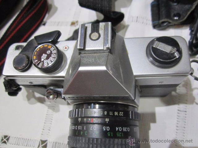 Cámara de fotos: Cámara de fotos Praktica MTL 5B, con objetivo y bolsa - Foto 4 - 53884591