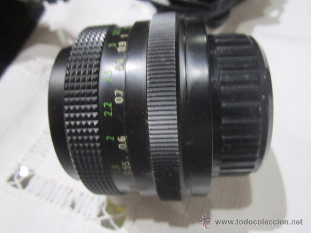 Cámara de fotos: Cámara de fotos Praktica MTL 5B, con objetivo y bolsa - Foto 8 - 53884591