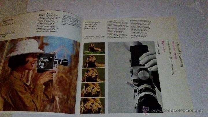 Cámara de fotos: CATALOGO PUBLICIDAD CAMARA BOLEX ZOOM REFLEX AUTOMATIC K1 - Foto 2 - 53964947