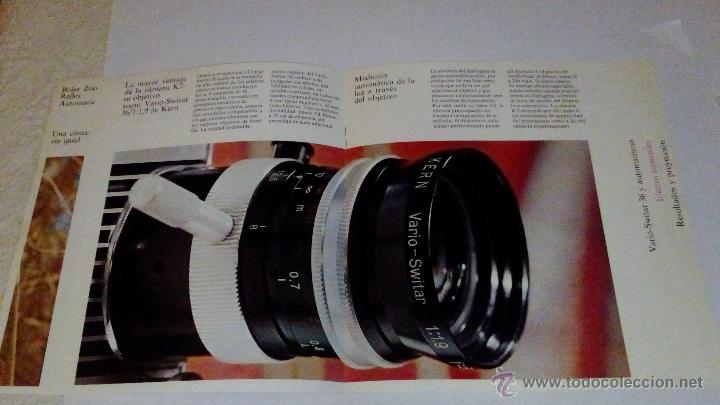 Cámara de fotos: CATALOGO PUBLICIDAD CAMARA BOLEX ZOOM REFLEX AUTOMATIC K1 - Foto 3 - 53964947