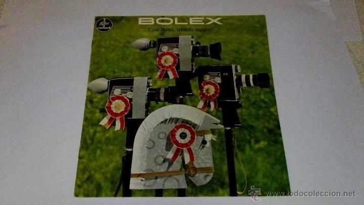 CATALOGO PUBLICIDAD CAMARA BOLEX PAILLARD (Cámaras Fotográficas - Catálogos, Manuales y Publicidad)