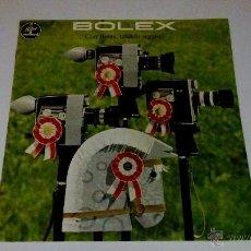 Cámara de fotos: CATALOGO PUBLICIDAD CAMARA BOLEX PAILLARD. Lote 53964971