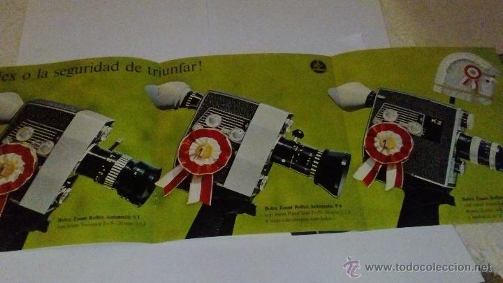 Cámara de fotos: CATALOGO PUBLICIDAD CAMARA BOLEX PAILLARD - Foto 3 - 53964971