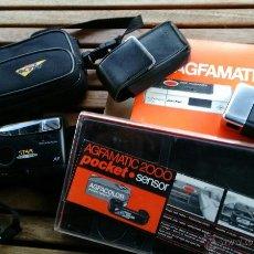 Cámara de fotos: LOTES DOS CÁMARAS AGFAMATIC 2000 Y KODAK STAR AUTOFOCUS. Lote 54153131