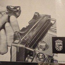 Cámara de fotos: ANTIGUO FOLLETO LINHOF.WASSERWAAGE SPIRIT LEVEL.INGLES-ALEMAN.AÑOS 50.. Lote 54209303