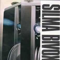Cámara de fotos: PUBLICIDAD CATALOGO PROYECTOR SUPER 8 SILMA BIVOX. Lote 54214814