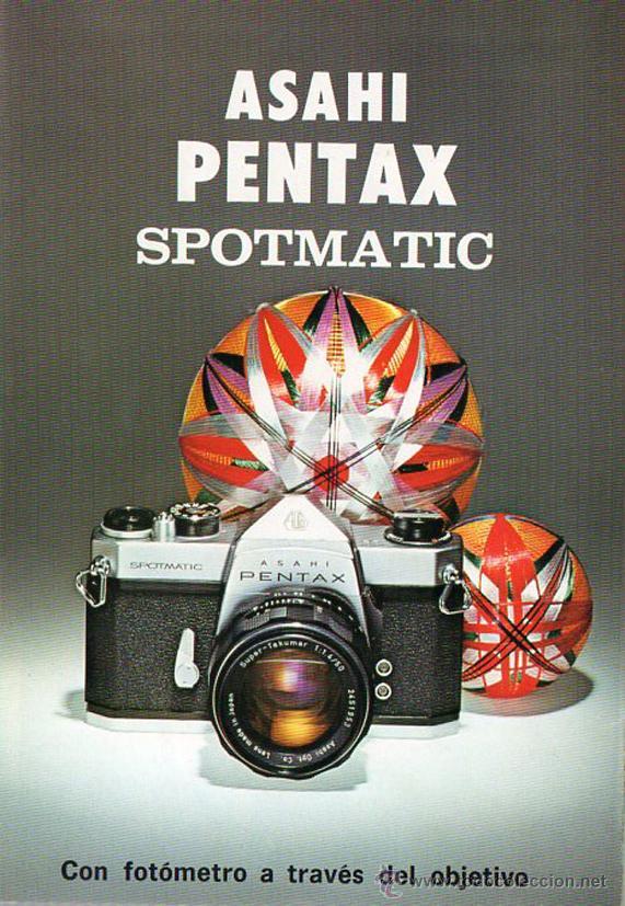 PUBLICIDAD CATALOGO CAMARA FOTOGRAFICA PENTAX SPOMATIC (Cámaras Fotográficas - Catálogos, Manuales y Publicidad)
