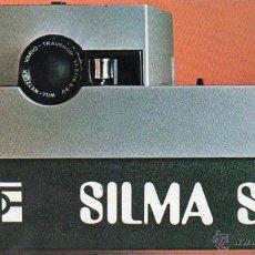 Cámara de fotos: PUBLICIDAD CATALOGO PROYECTOR SILMA S111 SUPER 8. Lote 54215188