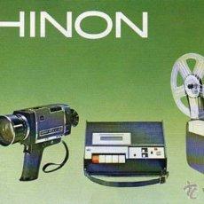 Cámara de fotos: PUBLICIDAD CATALOGO PROYECTOR CHINON. 1972. Lote 54237467