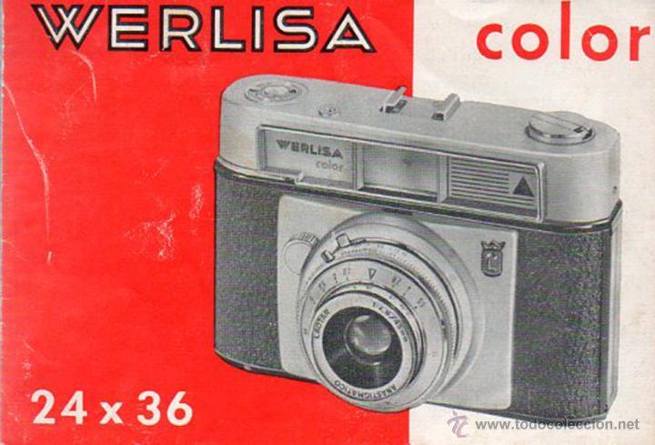 PUBLICIDAD CATALOGO CAMARA FOTOGRAFICA WERLISA COLOR (Cámaras Fotográficas - Catálogos, Manuales y Publicidad)