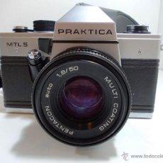 Cámara de fotos: FANTASTICA CAMARA FOTOGRAFICA DE LA MARCA PRAKTICA. Lote 54407185