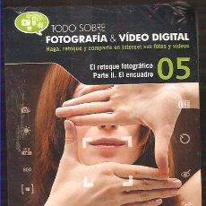 Cámara de fotos: CDROM - EL RETOQUE FOTOGRÁFICO - PARTE II - EL ENCUADRE ----- -REFM3E1. Lote 54562602
