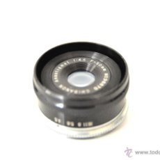 Cámara de fotos: OPTICA DE AMPLIADORA FOTOGRAFICA - LENTE AMPLIADOR FOTOGRAFICO 50MM. Lote 57609291