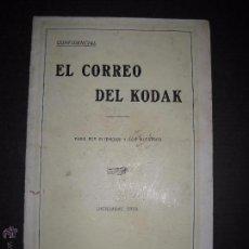 Cámara de fotos: EL CORREO DEL KODAK - DICIEMBRE 1928 - MADRID - VER FOTOS -(V-4525). Lote 54653334