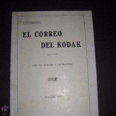 Cámara de fotos: EL CORREO DEL KODAK - FEBRERO 1929 - MADRID - VER FOTOS -(V-4526). Lote 54653352