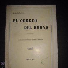 Cámara de fotos: EL CORREO DEL KODAK - ABRIL 1929 - MADRID - VER FOTOS -(V-4530). Lote 54653956