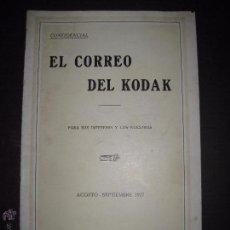 Cámara de fotos: EL CORREO DEL KODAK - SEPTIEMBRE 1927 - MADRID - VER FOTOS -(V-4532). Lote 54654069