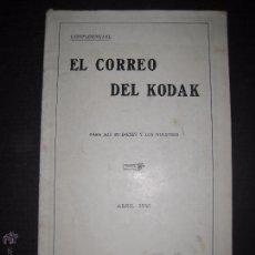 Cámara de fotos: EL CORREO DEL KODAK - ABRIL 1930 - MADRID - VER FOTOS -(V-4534). Lote 54654143