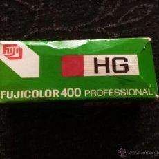 Cámara de fotos: FUJICOLOR 400 - PROFESIONAL - HG - NHG 120 - CADUCADO - 1997-1 EN SU CAJA - SIN ABRIR - FUJIFILM. Lote 54672856