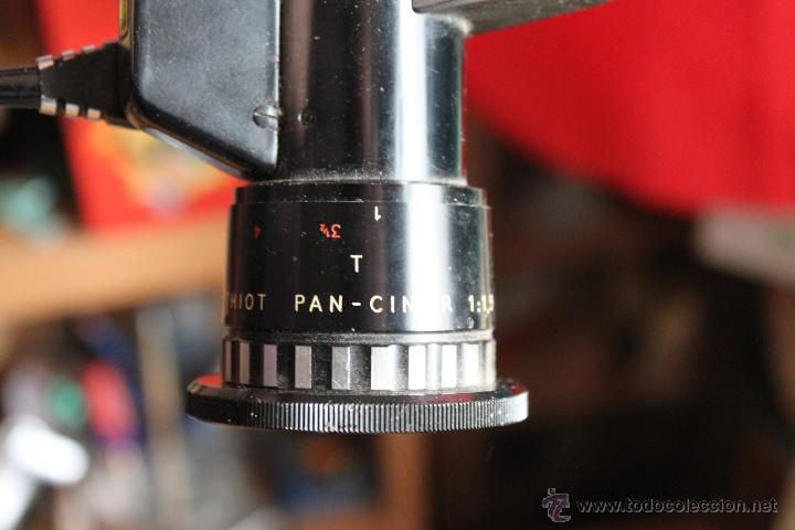 Cámara de fotos: Tomavistas Bolex Paillard (zoom Berthiot Pan Cinor1:1,9- 8-40mm) - Foto 3 - 54857665