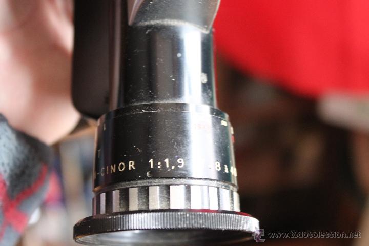 Cámara de fotos: Tomavistas Bolex Paillard (zoom Berthiot Pan Cinor1:1,9- 8-40mm) - Foto 4 - 54857665