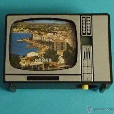 Cámara de fotos: VISOR DE 8 VISTAS DE ROSES CON FORMA DE TELEVISIÓN VINTAGE. Lote 54986384