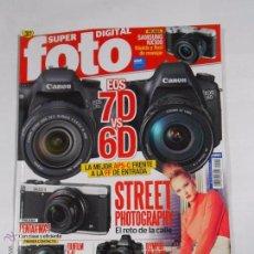 Câmaras de fotos: REVISTA SUPER FOTO DIGITAL Nº 214. EOS 7D VS 6D CANON. FUJIFILM X-A1. TDKR11. Lote 54989345