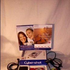 Cámara de fotos: CAMARA DE FOTOS Y VIDEO SONY CYBER SHOT W220 12.1 MEGAPIXELES FULL HD 1080P. Lote 55037206