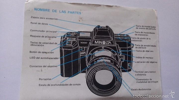 L950 CATALOGO MANUAL PUBLICIDAD DE CAMARA DE FOTOS MINOLTA (Cámaras Fotográficas - Catálogos, Manuales y Publicidad)