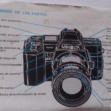 Cámara de fotos: L950 CATALOGO MANUAL PUBLICIDAD DE CAMARA DE FOTOS MINOLTA. Lote 55156123