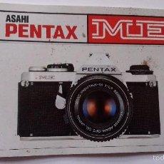 Cámara de fotos: L950 CATALOGO MANUAL PUBLICIDAD DE CAMARA DE FOTOS PENTAX ME. Lote 55156158
