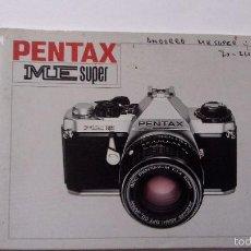 Appareil photos: L950 CATALOGO MANUAL PUBLICIDAD DE CAMARA DE FOTOS PENTAX ME SUPER. Lote 55156193