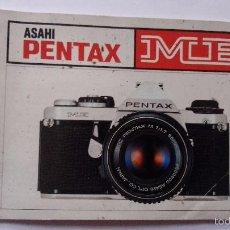 Cámara de fotos: L950 CATALOGO MANUAL PUBLICIDAD DE CAMARA DE FOTOS PENTAX ME. Lote 55156214