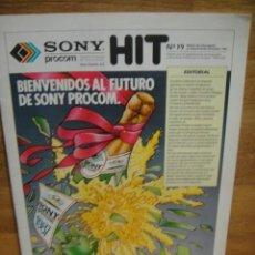 Cámara de fotos: HIT Nº 19 ,DICIEMBRE DE 1986 - BOLETIN INFORMATIVO DE SONY. Lote 56025266