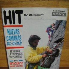 Cámara de fotos: HIT Nº 26 , - BOLETIN INFORMATIVO DE SONY. Lote 56025423