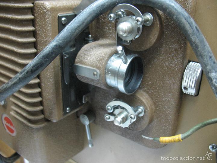 Cámara de fotos: KODAK - Antiguo proyector de cine en maletín - Foto 6 - 56116703