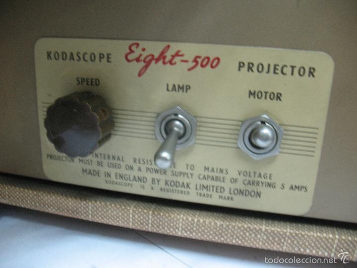 Cámara de fotos: KODAK - Antiguo proyector de cine en maletín - Foto 8 - 56116703