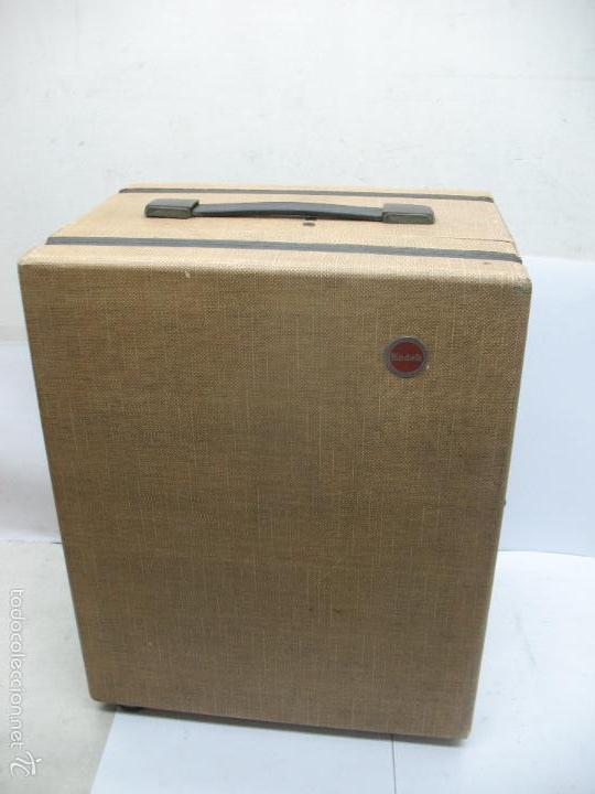 Cámara de fotos: KODAK - Antiguo proyector de cine en maletín - Foto 10 - 56116703