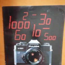 Cámara de fotos: CATALOGO ORIGINAL CAMARA FOTOGRAFICA FUJICA ST 901 1975. Lote 56187962