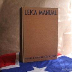 Cámara de fotos: LEICA MANUAL & DATA BOOK. Lote 56371441