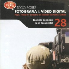 Cámara de fotos: VENDO CD TODO SOBRE FOTOGRAFIA Y VIDEO DIGITAL (TÉCNICA DE RODAJE EN EL DOCUMENTAL).. Lote 56601367