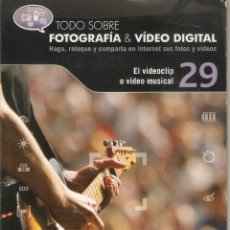 Cámara de fotos: VENDO CD TODO SOBRE FOTOGRAFIA Y VIDEO DIGITAL (EL VIDEOCLIP O VÍDEO MUSICAL).. Lote 56601381
