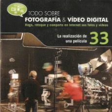 Cámara de fotos: VENDO CD TODO SOBRE FOTOGRAFIA Y VIDEO DIGITAL (LA REALIZACIÓN DE UNA PELICULA).. Lote 56601393