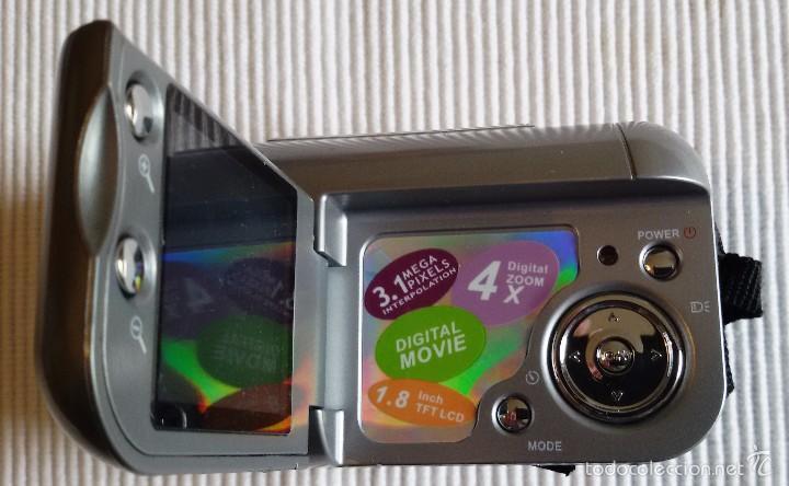 Cámara de fotos: CÁMARA DIGITAL VÍDEO PRIXTON DV100, APENAS USADA, COMPLETA. FUNCIONANDO. - Foto 5 - 56724404