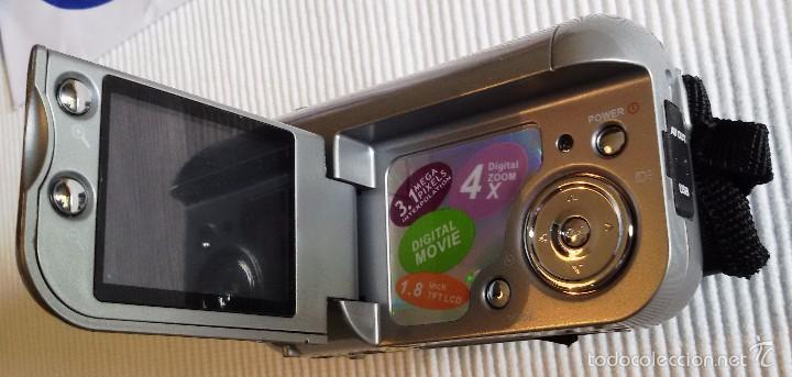 Cámara de fotos: CÁMARA DIGITAL VÍDEO PRIXTON DV100, APENAS USADA, COMPLETA. FUNCIONANDO. - Foto 6 - 56724404
