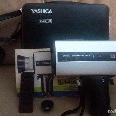Cámara de fotos: CAMARA YASHICA ELECTRO 8 LD4. COMPLETA. Lote 56750451