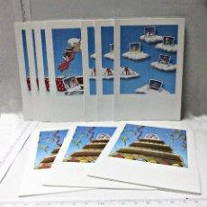 Cámara de fotos: 10 PORTAFOTOS ANTIGUOS DE CARTON DE POLAROID. Lote 56945379