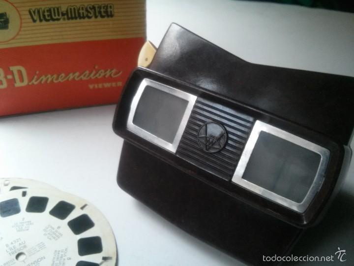 Cámara de fotos: visor View master baquelita - Foto 2 - 57085911